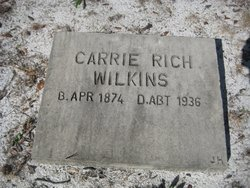 Carrie <i>Wilkins</i> Rich