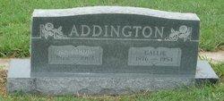 Callie <i>Russell</i> Addington
