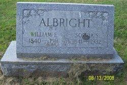 Sophia S Albright