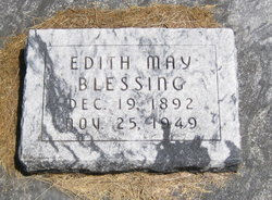 Edith May <i>Lilly</i> Blessing