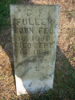 Columbus F Fuller