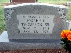 Joseph E Thompson, Sr