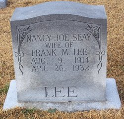 Nancy Joe <i>Seay</i> Lee