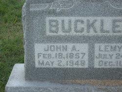 John Andrew Buckles