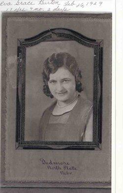 Eva Grace <i>Burton</i> Kayton