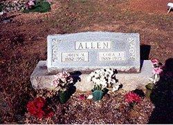 Cora Julius <i>McMichael</i> Allen