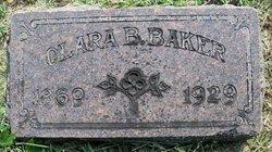 Clara Bell <i>Harned</i> Baker