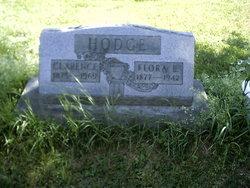 Flora E <i>Beckingham</i> Hodge