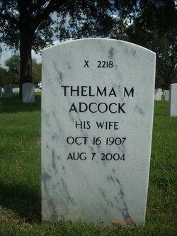 Thelma May Adcock
