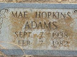 Mae Hopkins Adams