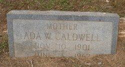 Ada W Caldwell