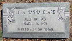 Lola <i>Hanna</i> Clark