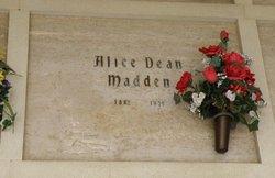 Alice Virginia <i>Dean</i> Madden