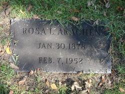 Rosa Loraine Louise <i>Burns</i> Arachen