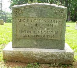 Hattie L. Montague Coles