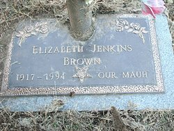 Elizabeth <i>Jenkins</i> Brown