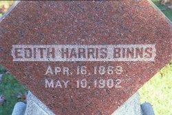 Edith <i>Harris</i> Binns
