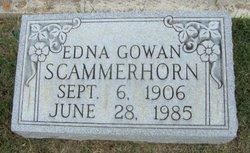 Edna Frances <i>Gowan</i> Scammerhorn