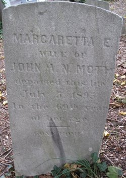 Margaretta E. <i>Hegeman</i> Mott