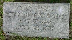 Emily F <i>Gill</i> Abbey