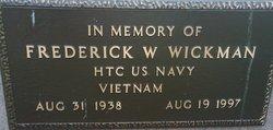 Frederick W Wickman