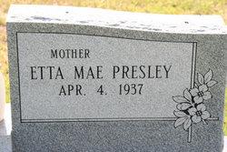 Etta Mae <i>Presley</i> Larry