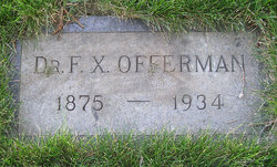 Dr Frank Xavier Offerman