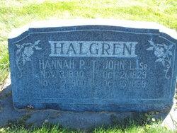 John Larson Halgren, Sr
