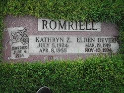 Kathryn Edith Ziebarth Romriell