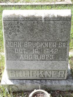 John Bruckner, Sr