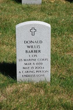 Donald Willis Barber
