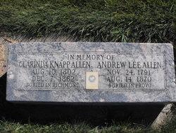 Clarinda <i>Knapp</i> Allen
