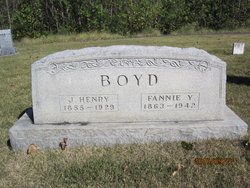 Fannie Young <i>Bradford</i> Boyd