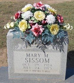 Mary M <i>Fulford</i> Sissom
