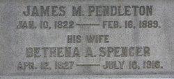 Bethena Arabella <i>Spencer</i> Pendleton