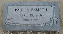 Paul Albert Bamsch