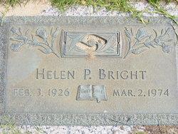 Helen Pearl <i>Harvell</i> Bright