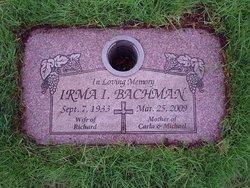 Irma I. <i>Lauer</i> Bachman