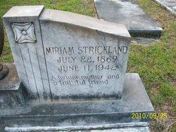 Miriam <i>Strickland</i> Bacon