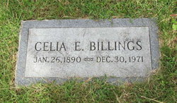 Celia Ethel <i>Raymond</i> Billings