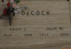 Julia <i>Coudron</i> DeCock