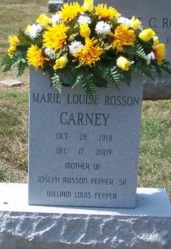 Marie Louise <i>Rosson</i> Carney