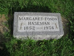 Margaret Ann <i>Fonda</i> Haseman