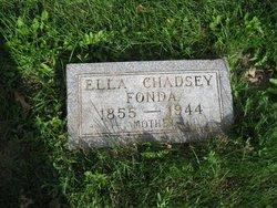 Ella Florence <i>Chadsey</i> Fonda