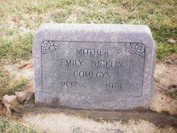 Emily Jane <i>Nicklin</i> Comegys