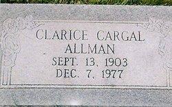 Clarice <i>Cargal</i> Allman
