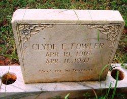 Clyde E. Fowler