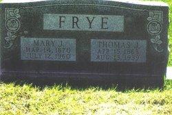 Mary Jona <i>Mosley</i> Frye