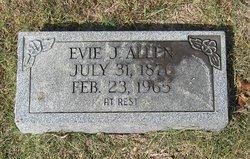 Evie <i>Jarman</i> Allen