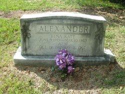 Rev A. M. Alexander, Sr